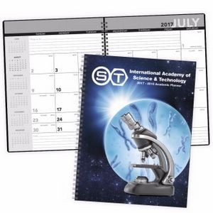 Triumph® Academic Year Desk Planner w/ Custom Cover