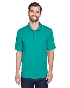 UltraClub® Men's Cool & Dry Mesh Piqué Polo Shirt