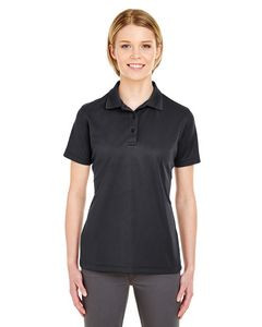 UltraClub® Ladies' Cool & Dry Mesh Piqué Polo Shirt