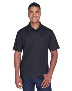 UltraClub® Men's Cool & Dry Mesh Piqué Polo Shirt w/Pocket