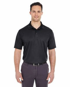 UltraClub® Men's Tall Cool & Dry Mesh Piqué Polo Shirt
