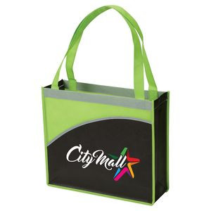 Customizable   Promotional Non-Woven Totes  e2f32d3ae2829
