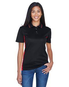 UltraClub® Ladies' Cool & Dry Sport Two Tone Polo Shirt
