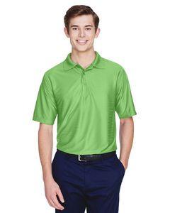 ULTRACLUB Men's Cool & Dry Elite Tonal Stripe Performance Polo