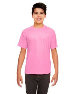 UltraClub® Youth Cool & Dry Sport Performance Interlock T-Shirt