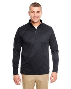 ULTRACLUB Adult Cool & Dry Sport Quarter-Zip Pullover Fleece