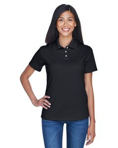 UltraClub® Ladies' Cool & Dry Stain-Release Performance Polo Shirt