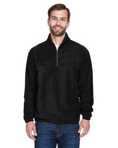 UltraClub® Adult Iceberg Fleece Quarter-Zip Pullover Jacket