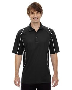 EXTREME Men's Eperformance? Velocity Snag Protection Colorblock Polo with Piping