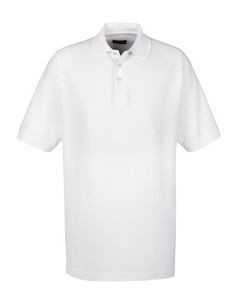 UltraClub® Men's Whisper Piqué Polo Shirt