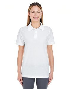 UltraClub® Ladies' Whisper Piqué Polo Shirt