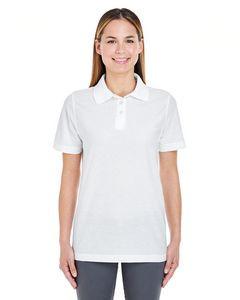 UltraClub® Ladies' Whisper Piqué Polo Shirt