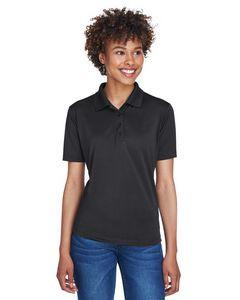 UltraClub® Ladies' Cool & Dry 8 Star Elite Performance Interlock Polo Shirt
