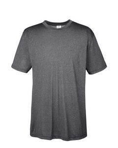 UltraClub® Men's Cool & Dry Heathered Performance T-Shirt