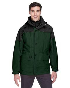 NORTH END Adult 3-in-1 Two-Tone Parka