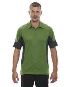 North End® Men's Refresh UTK cool-logik™ Coffee Performance Jersey Polo Shirt
