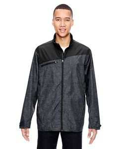 North End Sport® Red Men's Interactive Printed Lightweight Jacket
