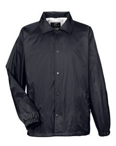 UltraClub® Adult Nylon Coaches' Jacket