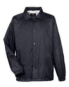UltraClub® Adult Nylon Coaches' Jacket