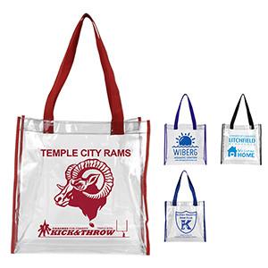 Clear Vinyl Stadium Compliant Tote Bag (Overseas)