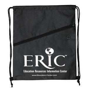 Teton - Drawstring Cinch Pack Backpack w/ Ear Bud Slot (Overseas)