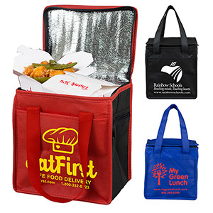 """""""Super Frosty"""" Insulated Cooler Lunch Tote Bag (Overseas)"""