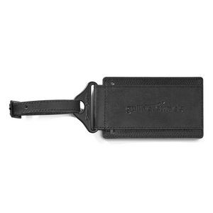Samsonite Leather Luggage Tag Black