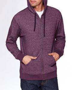 NEXT LEVEL APPAREL Adult Denim Fleece Full-Zip Hoody