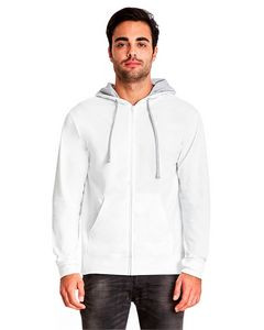 NEXT LEVEL APPAREL Adult French Terry Zip Hoody