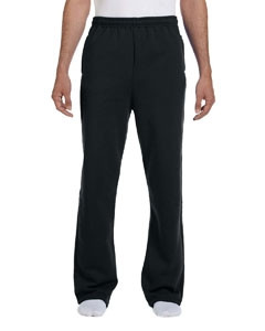 JERZEES® Adult 8 Oz. NuBlend® Open-Bottom Fleece Sweatpants