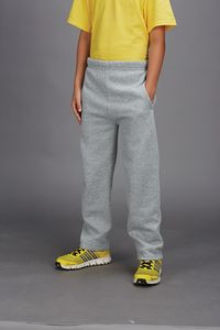 JERZEES® Youth 8 Oz. NuBlend® Open-Bottom Fleece Sweatpants