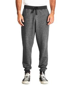 Next Level Men's Denim Fleece Jogger Pants