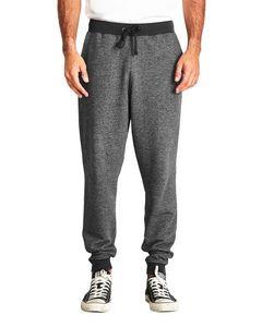 Next Level Men's Denim Fleece Jogger Pants