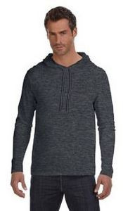 ANVIL® Lightweight Long-Sleeve Hooded T-Shirt