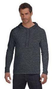 ANVIL® Lightweight Long-Sleeve Hooded T-Shirt