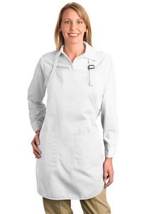 Port Authority® Full Length Apron w/ Pouch Pocket