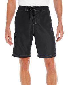 Burnside Men's Solid Board Shorts