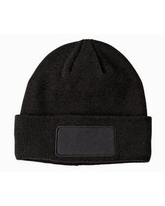 Big Accessories Patch Beanie