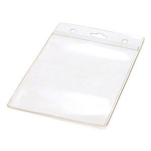 "Blank Mylar Pouch For 2 3/4""x3 3/4"" Insert Card (Style 333)"