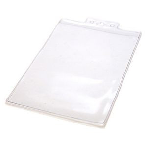 """Blank Mylar Pouch For 2 1/4"""" x 3 3/4"""" Insert Card (Style 422)"""