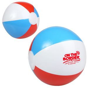 Red, White & Blue Beach Ball