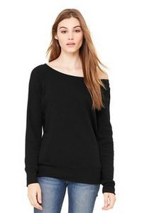 Bella+Canvas® Women's Sponge Fleece Wide Neck Sweatshirt
