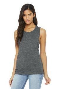 Bella+Canvas® Women's Flowy Scoop Muscle Tank
