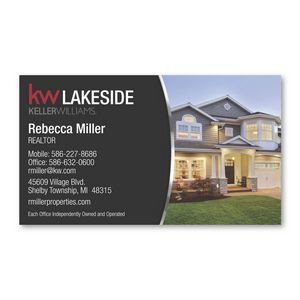 Smart Buy Business Card Magnet