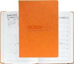 "Large Casebound Hybrids™ Bohemian™ Textured Journal w/Planner (7""x10"")"