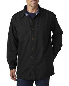Backpacker Men's Canvas Shirt Jacket w/Flannel Lining