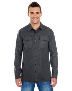 Burnside Men's Solid Flannel Shirt