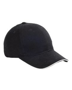 Big Accessories 6-Panel Twill Sandwich Baseball Cap