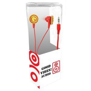 3D Logo PVC Label Earbuds