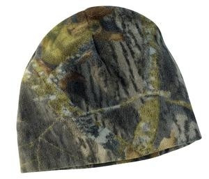 Port Authority® Camouflage Fleece Beanie Hat
